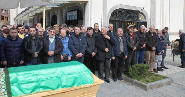 Taşkıran'da Hanife Kaplan Toprağa verildi 6