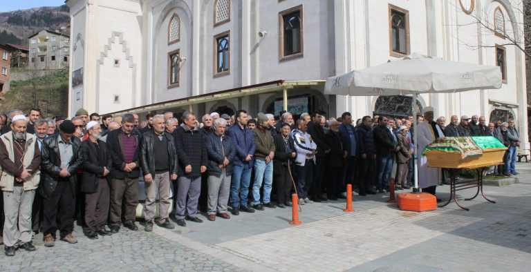 Taşkıran'da Hanife Kaplan Toprağa verildi 5