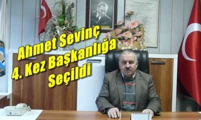 Ahmet Sevinç 4.kez Esnaf ve Sanatkarlar Kredi Kooperatif Başkanlığına seçildi