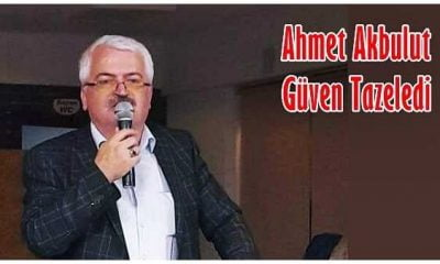 Ahmet Akbulut SATSO'da güven tazeledi