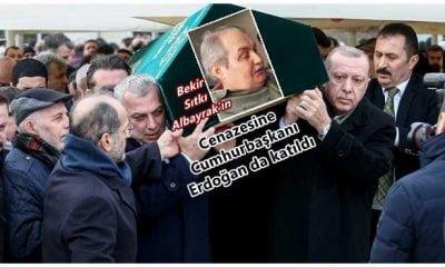Cumhurbaşkanı Erdoğan Çaykaralı dava arkadaşını uğurladı