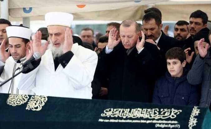 Cumhurbaşkanı Erdoğan Çaykaralı dava arkadaşını uğurladı 2