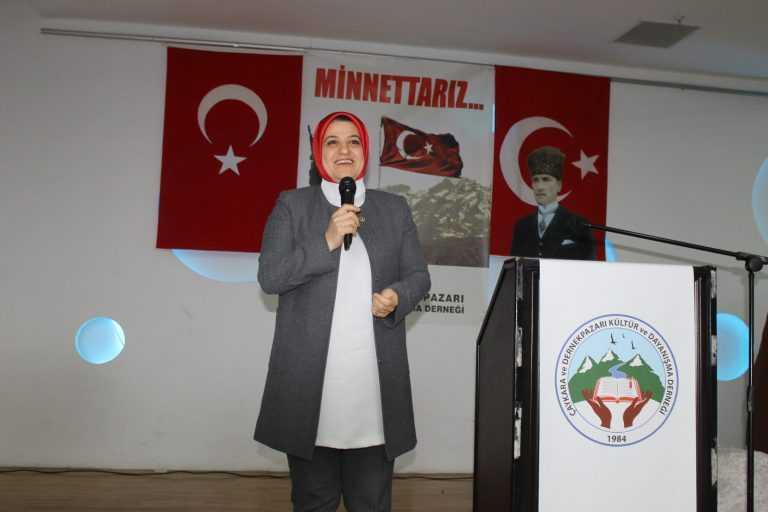 Çaykara-Dernekpazarlılar Mehmetçik'e destek için kucaklaştı 6