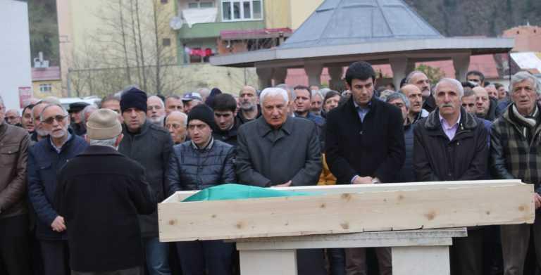Çaykara'da Yıldız Uygun toprağa verildi 9