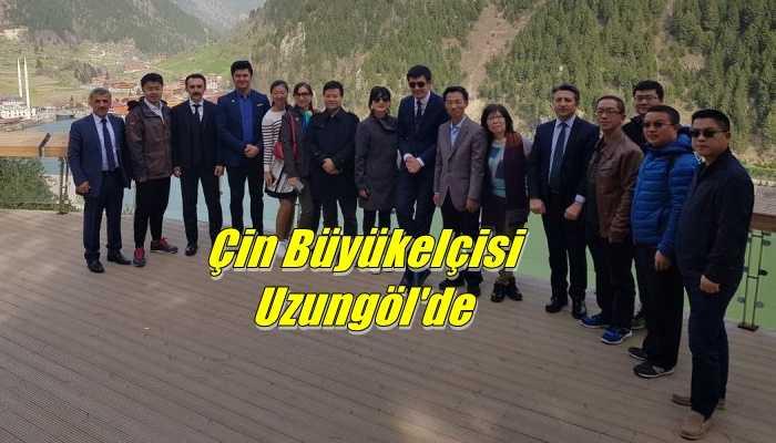 Çin Halk Cumhuriyeti Ankara Büyükelçisi Yu Hongyang  Uzungöl'de