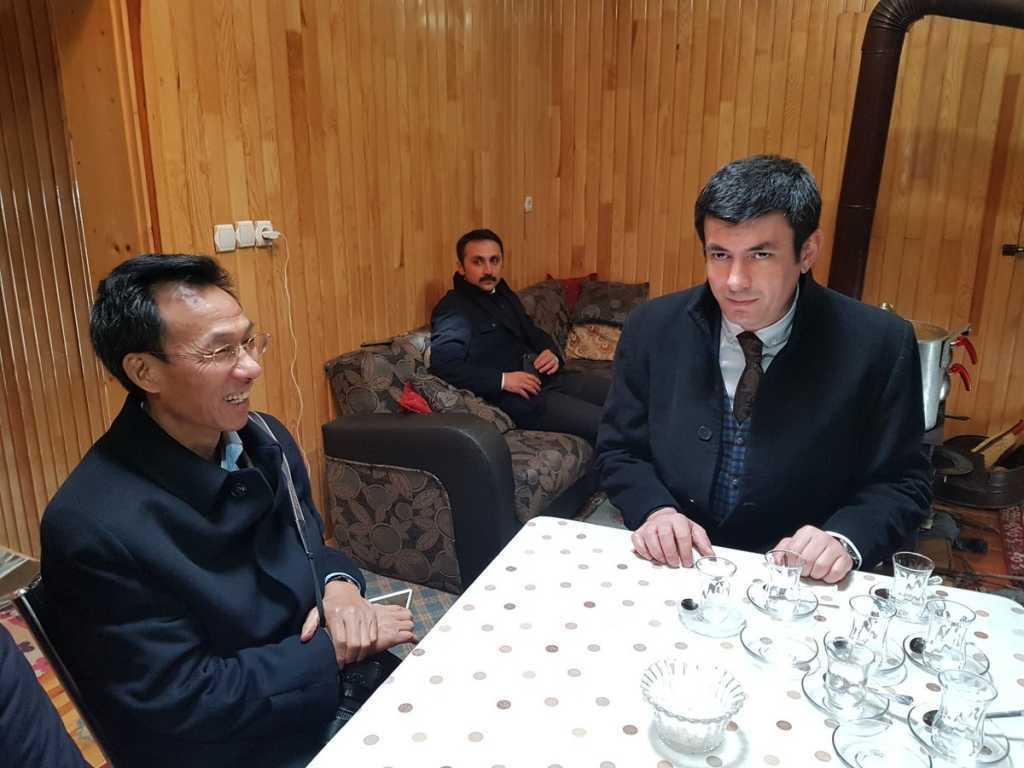 Çin Halk Cumhuriyeti Ankara Büyükelçisi Yu Hongyang Uzungöl'de 1