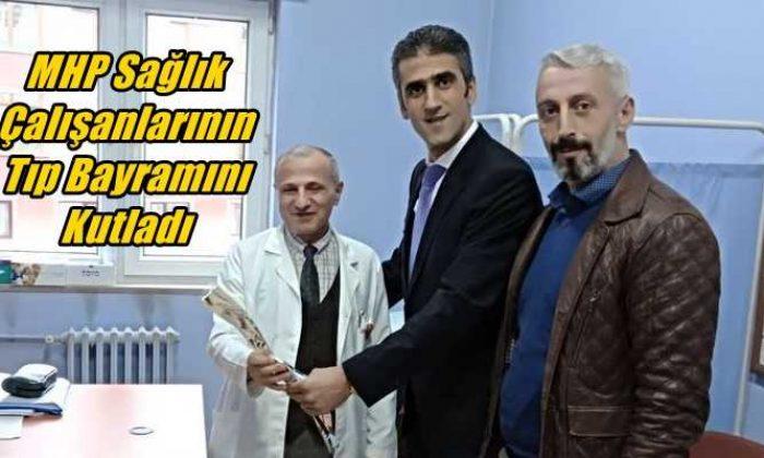 MHP Çaykara Teşkilatı Sağlık Çalışanlarının Tıp Bayramını Kutladı