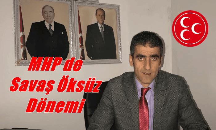Milliyetçi Hareket Partisi Çaykara İlçe Başkanlığına Savaş Öksüz getirildi
