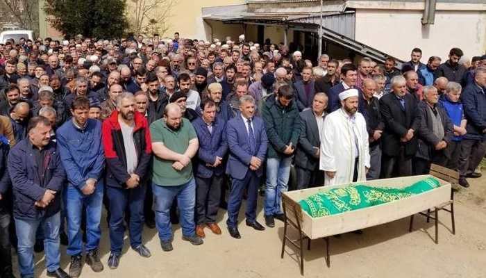 Genç yaşta vefat eden Nurettin Dilmaç toprağa verildi