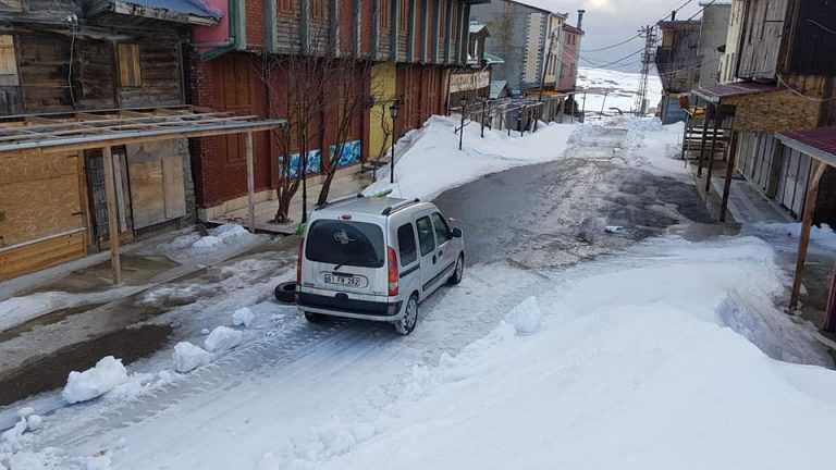 Çaykara Sultanmurat yolu ulaşıma açıldı 6