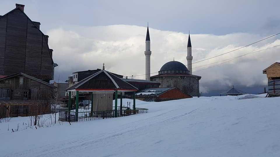 Çaykara Sultanmurat yolu ulaşıma açıldı 7