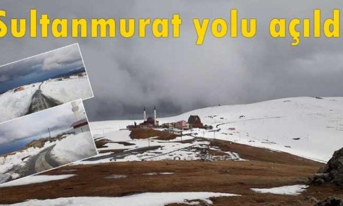 Çaykara Sultanmurat yolu ulaşıma açıldı