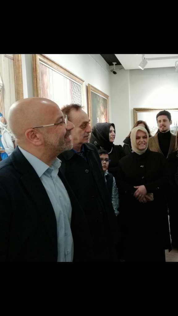 """Ressam Filiz Gedikoğlu'nun """"Yeşil Çaykara"""" adlı resim Sergisi açıldı 12"""