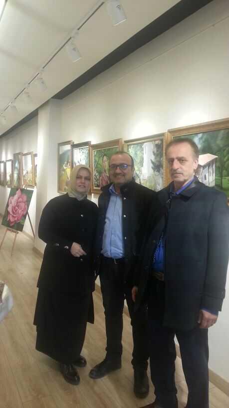 """Ressam Filiz Gedikoğlu'nun """"Yeşil Çaykara"""" adlı resim Sergisi açıldı 14"""