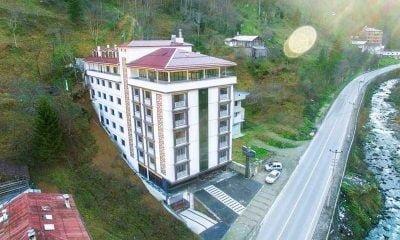 Çaykara Taşkıran'da Golden Inn Oteli hizmete girdi