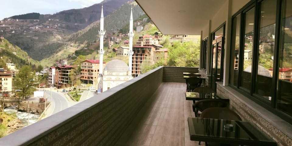Çaykara Taşkıran'da Golden Inn Oteli hizmete girdi 8