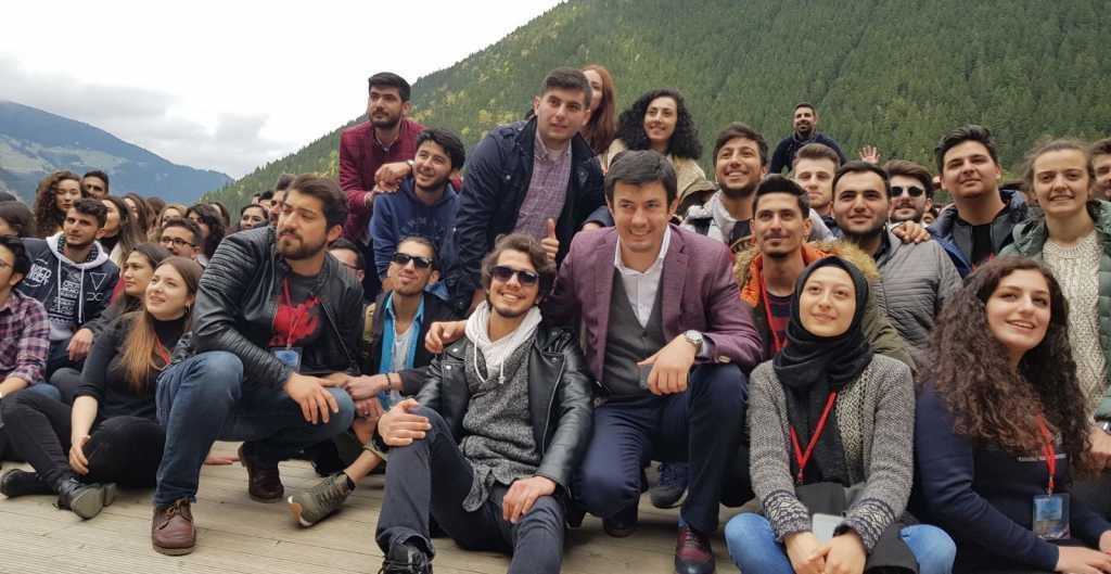 Kaymakam İhsan Ayrancı üniversiteli gençleri ağırladı