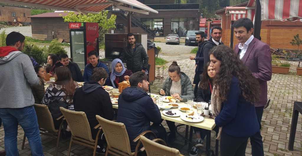 Kaymakam İhsan Ayrancı üniversiteli gençleri ağırladı 6