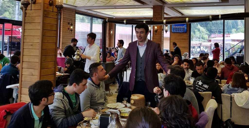 Kaymakam İhsan Ayrancı üniversiteli gençleri ağırladı 7