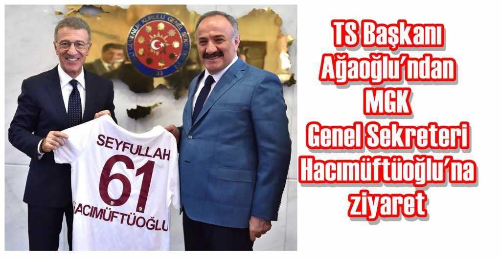 Ağaoğlu'ndan Hacımüftüoğlu'na ziyaret
