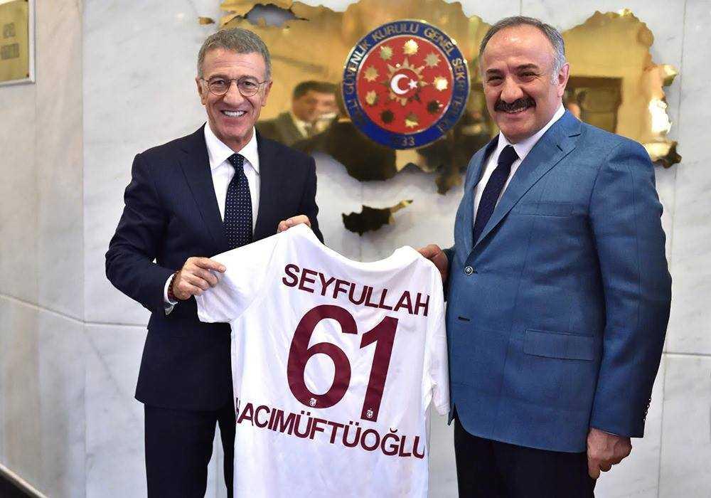 Ağaoğlu'ndan Hacımüftüoğlu'na ziyaret 1