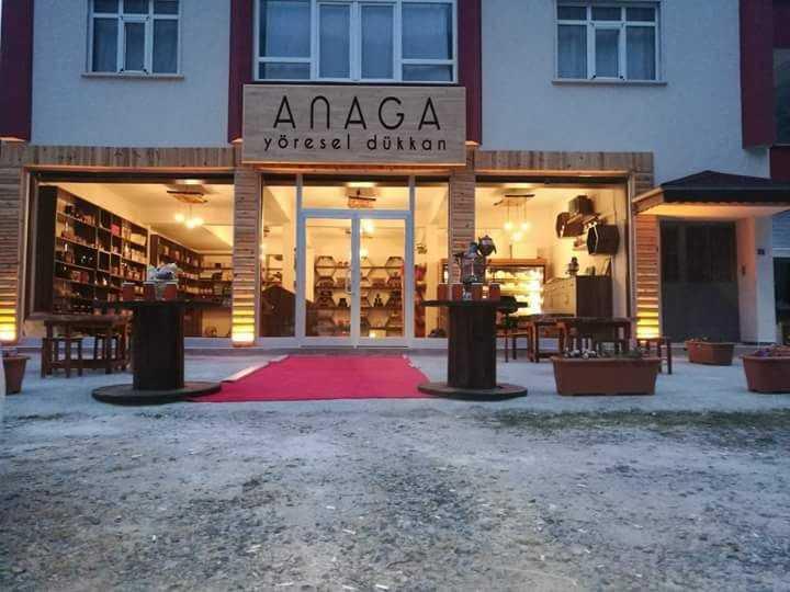 """Çaykara'da """"ANAGA"""" Yöresel ürünler dükkanı açıldı 3"""