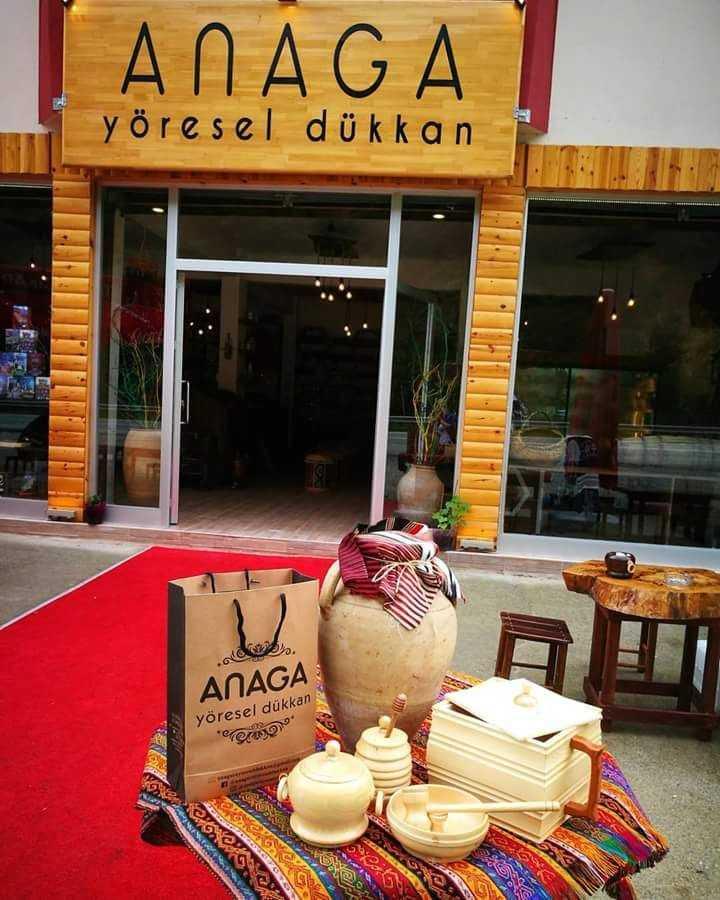 """Çaykara'da """"ANAGA"""" Yöresel ürünler dükkanı açıldı 5"""