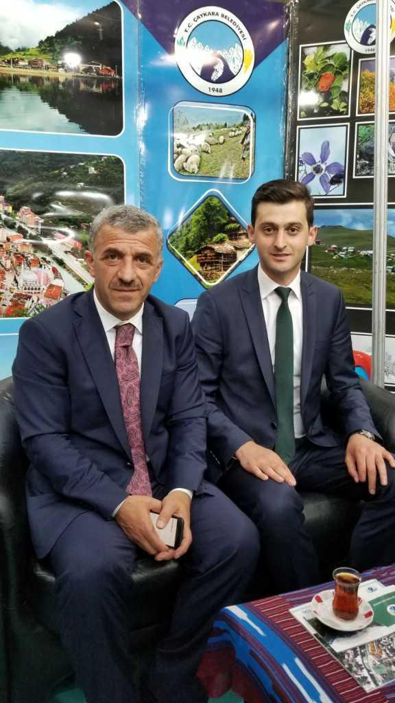 Trabzon günlerinde Çaykara standına yoğun ilgi 5
