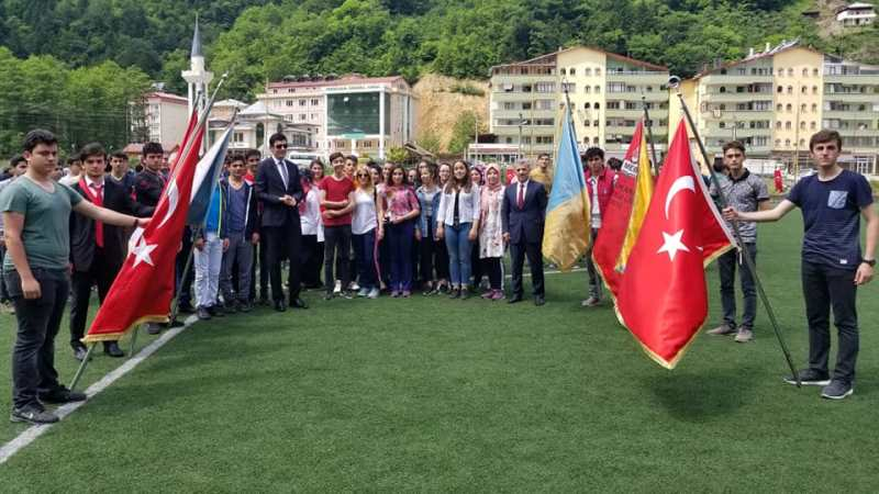 19 Mayıs Gençlik Haftası Çaykara'da coşkuyla kutlandı 3