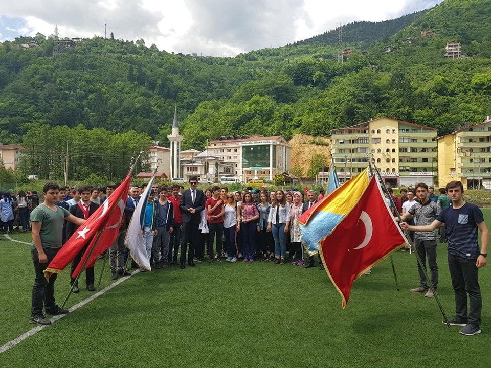 19 Mayıs Gençlik Haftası Çaykara'da coşkuyla kutlandı 6