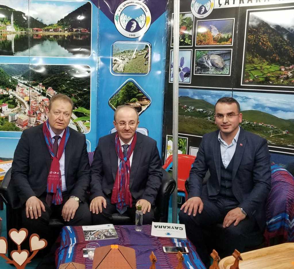 Trabzon günlerinde Çaykara standına yoğun ilgi 13
