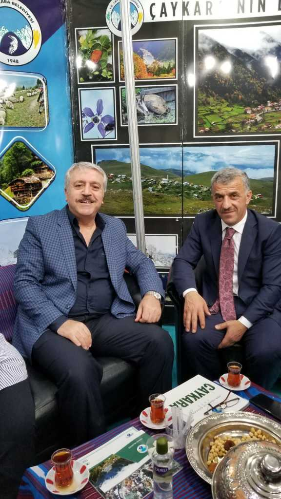 Trabzon günlerinde Çaykara standına yoğun ilgi 10