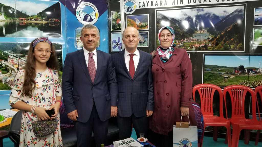 Trabzon günlerinde Çaykara standına yoğun ilgi 11
