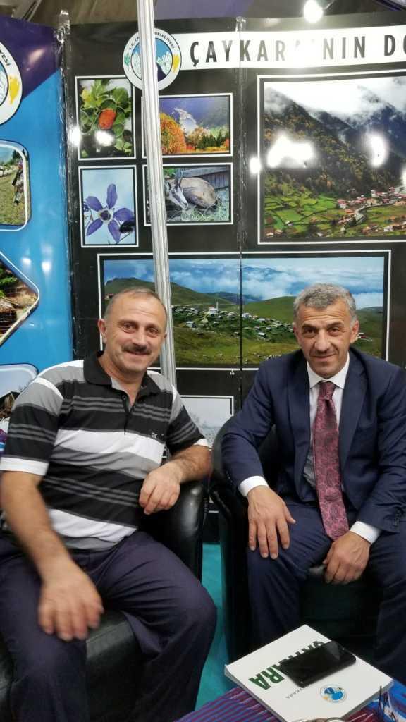 Trabzon günlerinde Çaykara standına yoğun ilgi 6