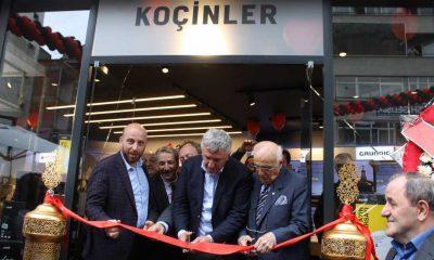 Çaykaralı iş adamı Mustafa Koçin ikinci mağazasını açtı