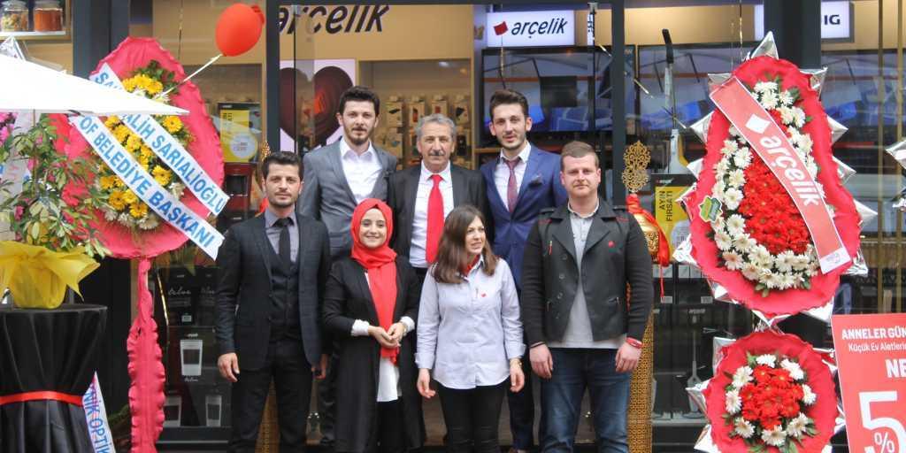 Çaykaralı iş adamı Mustafa Koçin ikinci mağazasını açtı 6
