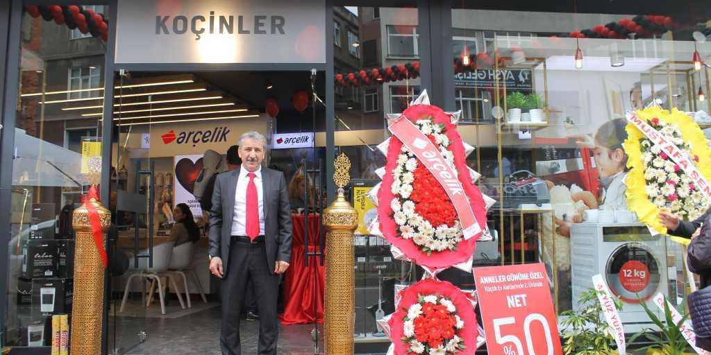 Çaykaralı iş adamı Mustafa Koçin ikinci mağazasını açtı 13