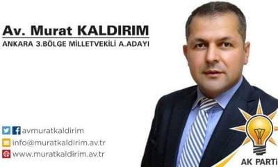 Avukat Murat Kaldırım Ankara 3. Bölge Milletvekili aday adayı