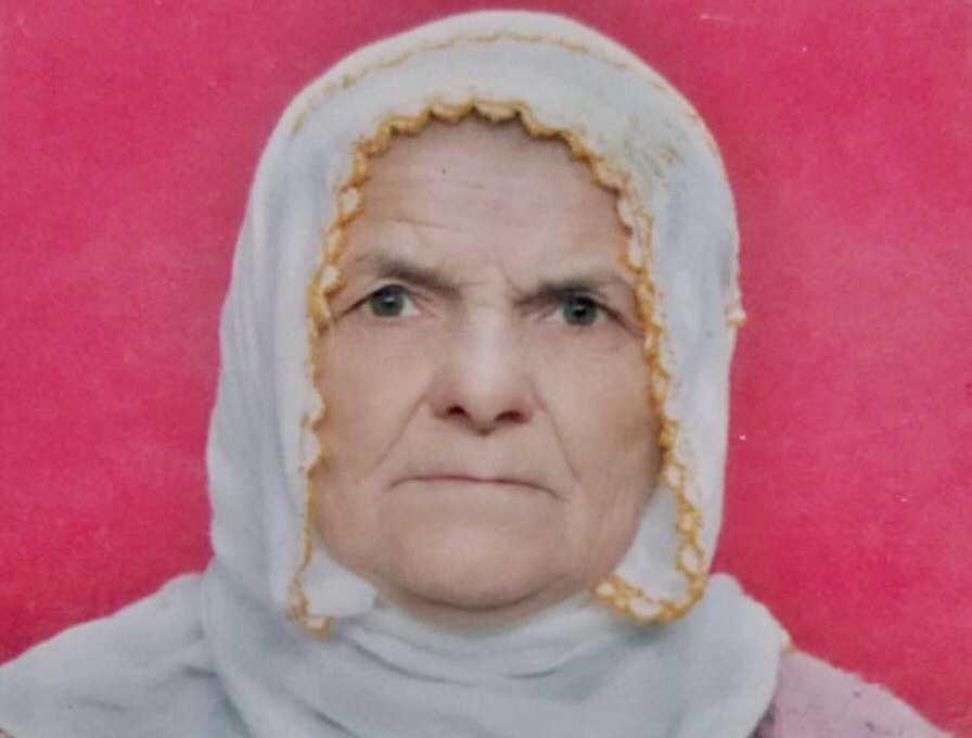 Şahinkaya'da Ayşe Şahin vefat etti