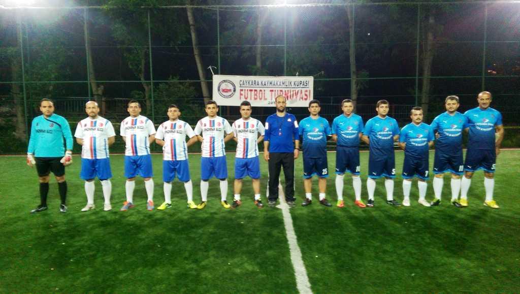 Çaykara Kaymakamlık Kupası Halı Saha Turnuvası Başladı, 3 maç oynandı 5