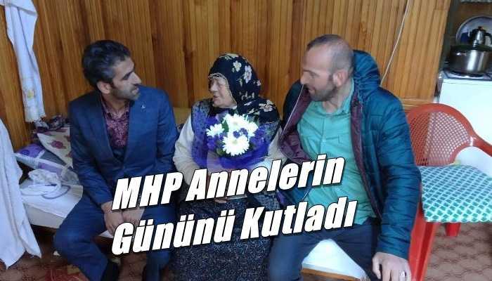 MHP Çaykara İlçe teşkilatı anneler gününü kutladı