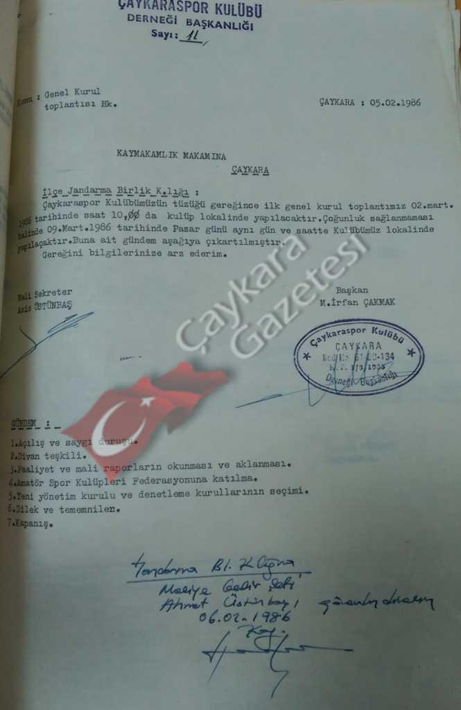 Çaykarasporun tarihi ve şampiyonlukları 3