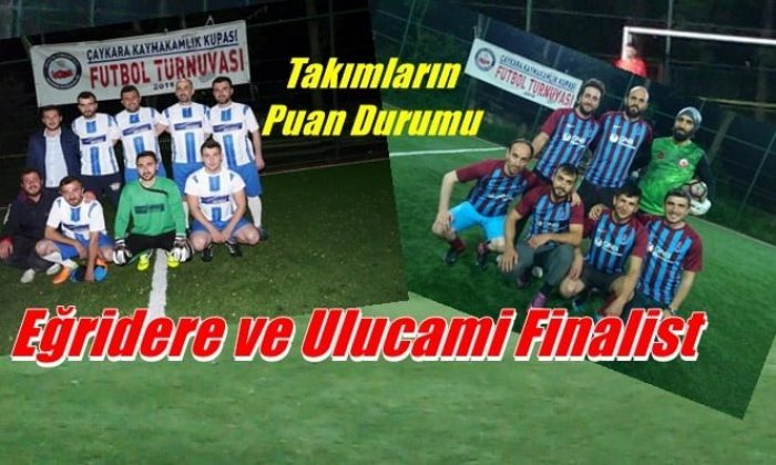 Eğridere ve Ulucami finalist