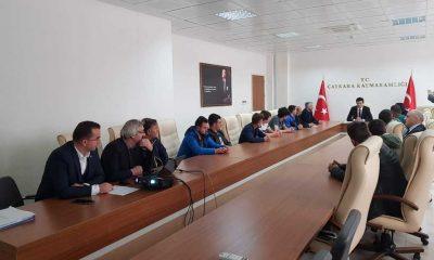Çaykara Kaymakamlığı Futbol Turnuvası Grup Kuraları çekildi