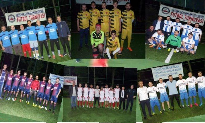 Kaymakamlık Kupası Halı Saha Turnuvasında bu günde 3 maç oynandı