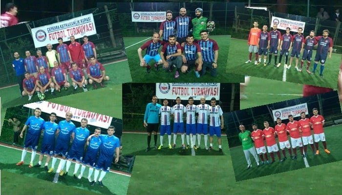 Çaykara Kaymakamlık Kupası Halı Saha Turnuvası Başladı, 3 maç oynandı