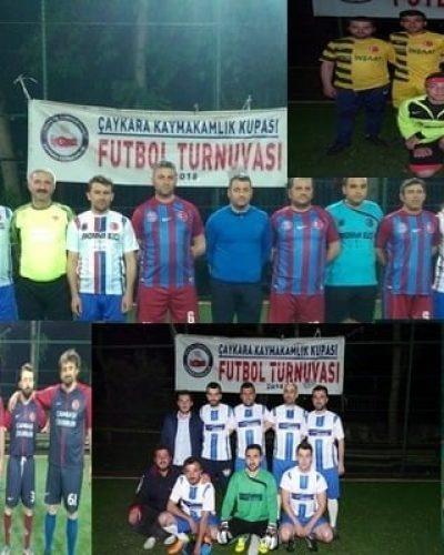 Çaykara Kaymakamlık Kupası Futbol Turnuvasında son durum