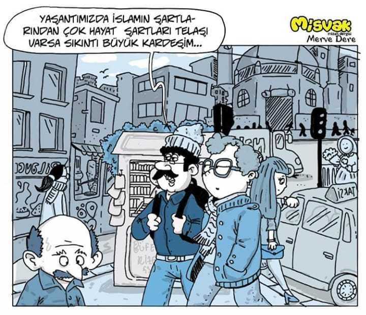 Çaykaralı genç karikatürist karikatürlerini Başbakan'a sundu 3