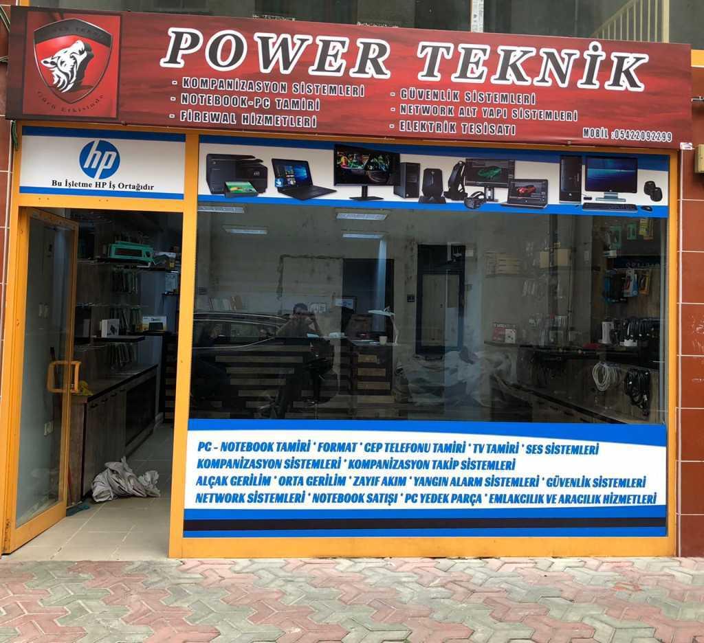 Çaykara'da POWER TEKNİK Açıldı 1