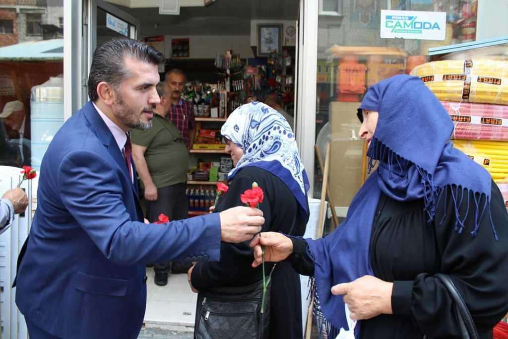 Ak Parti adaylarından Çaykara çıkarması 20